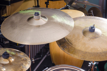Drum kit close up