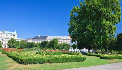 Volksgarten Park, Vienna Austria