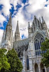 Votive Church in Vienna, Capital of Austria