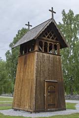 Glockenturm der Stabkirche Heddal