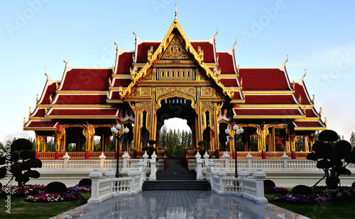 canvas print picture Palast Sala Thai