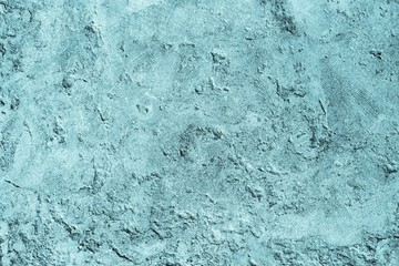 texture of old plaster for backgrounds blue color