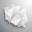 polska origami wektor