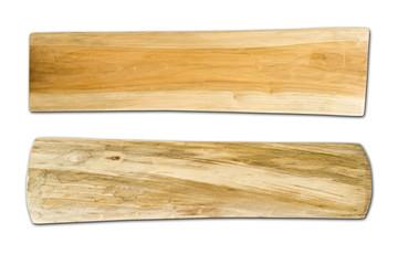 wood isolated on white background