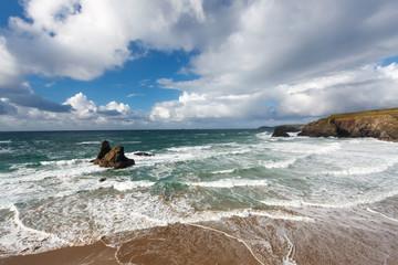 Porthcothan Bay Cornwall England