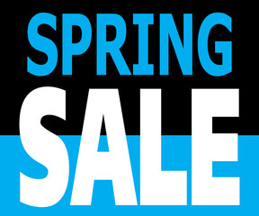Spring Sale Promotion Label