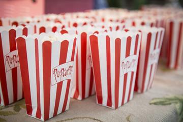 Popcorn in der Tüte / Kino / Gartenparty
