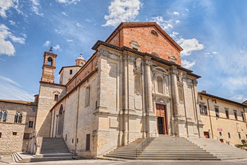 Cathedral of Città di Castello, Perugia, Umbria, Italy