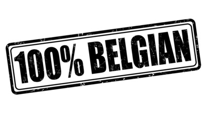 100 percent belgian stamp