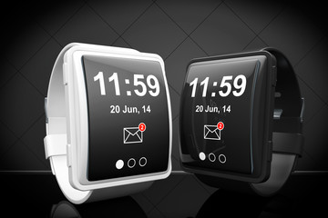 Big conceptual smart watches