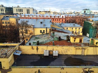 moscow roofs