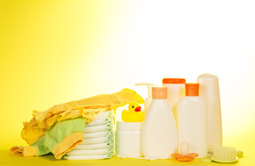 Set of baby care products