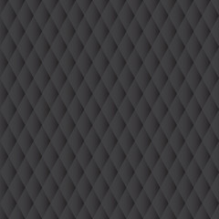 Black geometric background, seamless pattern