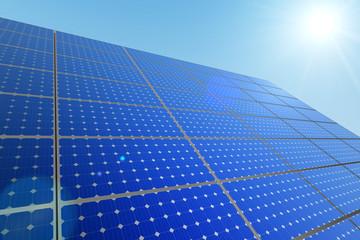 Zonne panelen duurzaam stroom opwekken