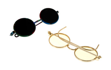 Toy eyeglasses and sunglasses