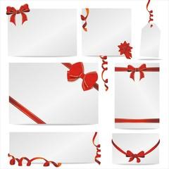 Set mit 7 Geschenkkarten