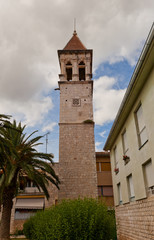 Saint Michael bell tower. Trogir, Croatia