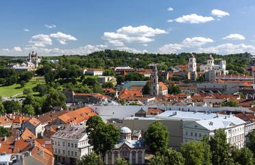 Vilnius old town pnorama