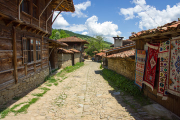 Houses on the street weavers