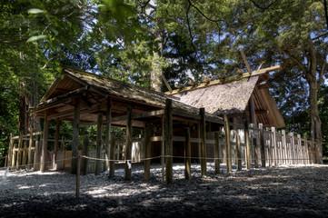 Shinto shrine at Ise Jingu, Japan
