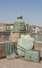 Basel, Altstadt, Rheinbrücke, Rhein, Helvetia, Schweiz