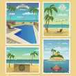Summer Retro Backgrounds