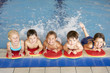 Children in swimming pool - 66778869