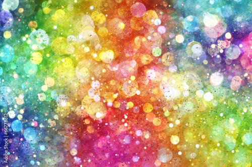 canvas print picture Rainbow of lights