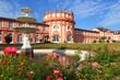 Leinwanddruck Bild - Wiesbaden, Biebricher Schloss (Juni 2014)