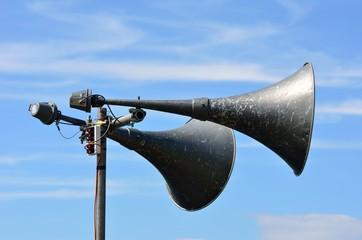 Outdoor loud speakers