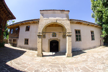 Temple of St. Nicholas in the Bulgarian village of Zheravna