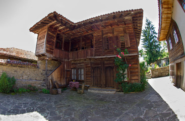 When Temple building in the village of Zheravna