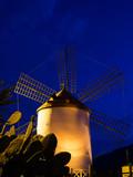 Mühle in Mogán auf Gran Canaria poster