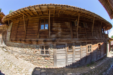 Bulgarian traditional wooden architecture