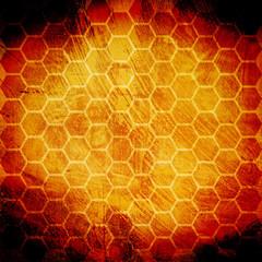 grunge honeycomb
