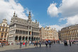 Brussels - The main square Grote Markt and Grand palace.