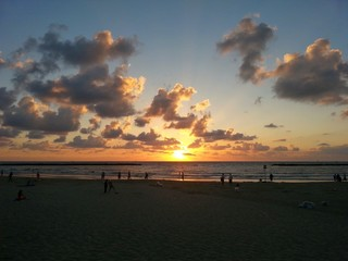 Atardecer en Tel Aviv ISRAEL