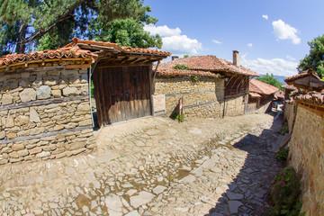 Architecture Balkan mountain village