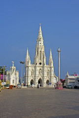 Temple of the Our Lady of Ranson in Kanyakumari