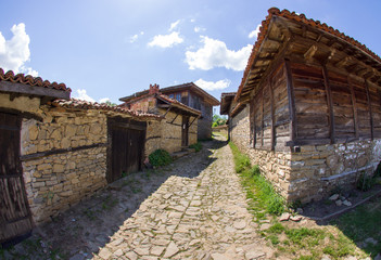 Bulgarian village in the Balkans