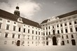 Hofburg, Vienna - sepia image