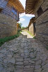 Rural paving in Balkahan