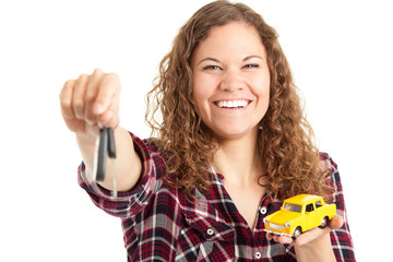 Autoschlüssel und Neuwagen