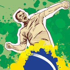 Brasil sign for T-Shirts