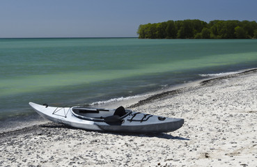 Kayak on the Shoreline