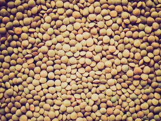 Retro look Lentils picture