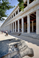 Stoa of Attalos - Agora of Athens© Çetin Ergand 2014