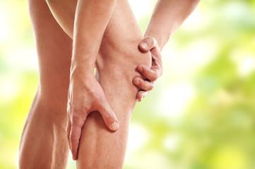 Probleme und Schmerzen im Knie