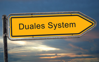 Strassenschild 19 - Duales System
