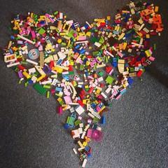lego love heart